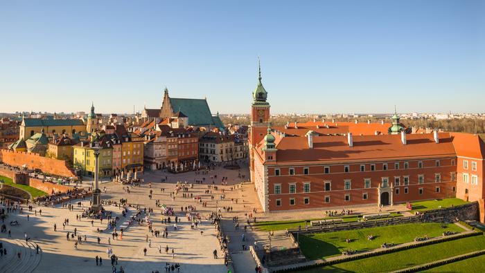 Zamki w Polsce - Zamek Królewski w Warszawie