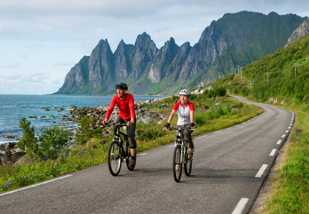 Norwegia - rowery