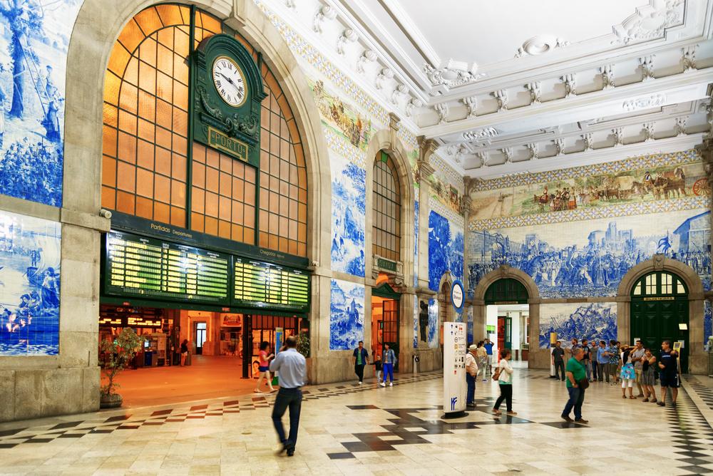 Porto - dworzec Sao Bento