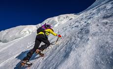Raki i czekan to główny element zimowego wyposażenia w wysokie góry