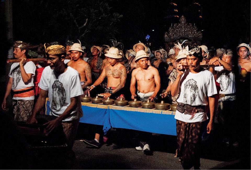 Gamelany składają  się z różnorodnych gongów