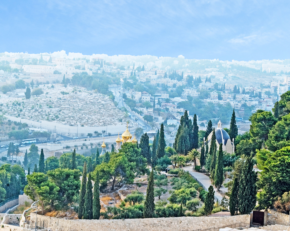 Góra Oliwna w Jerozolimie